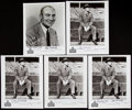 Autographs:Photos, Ray Flaherty Signed Photograph Lot of 5. ...
