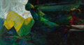 Fine Art - Painting, American, Margaret Putnam (American, 1913-1989). Into the Deep. Oil oncanvas. 30 x 56 inches (76.2 x 142.2 cm). Titled on the str...