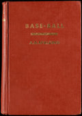Baseball Collectibles:Publications, 1911 Base-Ball by Albert Spalding....