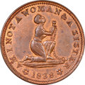 Hard Times Tokens, 1838 Am I Not a Woman & A Sister -- Cleaned -- NGC Details. Unc. Low-54, DeWitt-CE-1838-19, HT-81, R.1. Copper. The popular ...