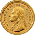 Commemorative Gold, 1903 G$1 Louisiana Purchase, Jefferson Gold Dollar MS62 NGC. ChiefEngraver Charles Barber prepared the designs for the two...