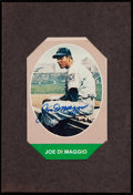 Autographs:Post Cards, Joe DiMaggio Signed & Matted Postcard....