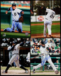 Autographs:Photos, Miguel Cabrera Signed Photograph Lot of 4.. ...
