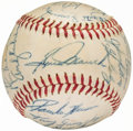 Autographs:Baseballs, 1960 Philadelphia Phillies Team Signed Baseball (24 Signatures)....