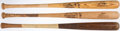 Baseball Collectibles:Bats, Game Used Bat Lot of 3 with Oliver, Severson, & Wohlford.... (Total: 3 item)