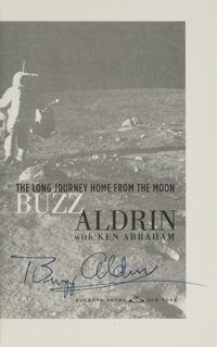 Buzz Aldrin Signed Book: Magnificent Desolation, Originally from His Personal Collection