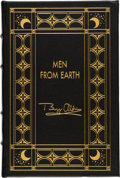 Explorers:Space Exploration, Buzz Aldrin Author's Edition (One of Fifty Copies) Leather-Bound Book: Men From Earth, Originally from His Persona...