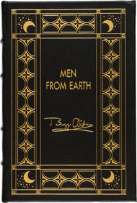 Buzz Aldrin Author's Edition (One of Fifty Copies) Leather-Bound Book: Men From Earth, Origi