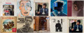 Music Memorabilia:Recordings, Bob Dylan Sealed Album Group of 10 Plus Counter Display (Columbia1964-2009)....