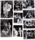 Music Memorabilia:Photos, Rolling Stones: Mick and Bianca Publicity Photo Collection, Circa 1971-1977 With a Warner Brothers Press Kit for the Film ...