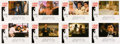 Movie/TV Memorabilia:Posters, Scarface Complete Set of 8 Lobby Cards (Universal Studios,1983)....