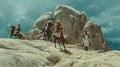 Fine Art - Painting, American, Frank McCarthy (American, 1924-2002). A Cold Trail, 1972.Oil on Masonite. 18 x 31-3/4 inches (45.7 x 80.6 cm). Signed a...