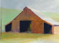 Paintings, Wolf Kahn (American, b. 1927). Tennessee Horse Barn, 1982. Oil on canvas. 26 x 36 inches (66.0 x 91.4 cm). Dated and tit...