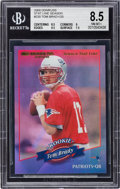 Football Cards:Singles (1970-Now), 2000 Donruss Tom Brady Season Stat Line #230 BGS NM-MT+ 8.5 - Numbered 20/20 - Last Example Produced 1/1!...