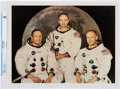 Explorers:Space Exploration, Apollo 11: Prime Crew Print Directly From The Armstrong Family Collection™, Certified and Encapsulated by Collectibles Authent...