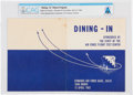 """Explorers:Space Exploration, Air Force Flight Test Center: Edwards Air Force Base Menu """"Dining-In"""" April 12, 1962 Directly From The Armstrong Family Collec..."""