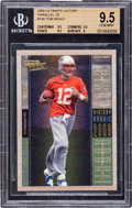 Football Cards:Singles (1970-Now), 2000 Upper Deck Ultimate Victory Tom Brady #146 Parallel Numbered 16/25 BGS Gem Mint 9.5 - The Highest BGS Graded Example!...