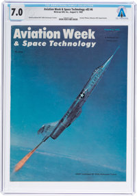 Neil Armstrong: Aviation Week & Space Technology Magazine Dated August, 1965, Sent to Armstr