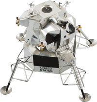 Apollo 11: Model of Lunar Module Eagle Directly From The Armstrong Family Collection™, Certi