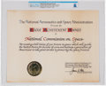Explorers:Space Exploration, NASA: National Commission on Space Group Achievement Award Certificate Directly From The Armstrong Family Collection™,...