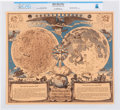 """Explorers:Space Exploration, """"Myths, Maps and Men. Merrill Lynch Salutes the Year of the Moon"""" Directly From The Armstrong Family Collection™, Certified an..."""