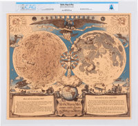 """""""Myths, Maps and Men. Merrill Lynch Salutes the Year of the Moon"""" Directly From The Armstrong Family Collectio..."""