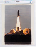 Explorers:Space Exploration, Photograph of NASA Space Shuttle Challenger Liftoff Directly From The Armstrong Family Collection™, Certified and ...