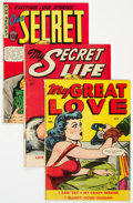 Golden Age (1938-1955):Romance, Golden Age Romance Canadian Editions Group 3 (Various, 1940s-50s). ... (Total: 3 Comic Books)