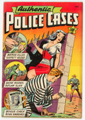 Golden Age (1938-1955):Crime, Authentic Police Cases #5 (St. John, 1948) Condition: FN....
