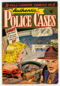 Golden Age (1938-1955):Crime, Authentic Police Cases #25 (St. John, 1953) Condition: VG/FN....