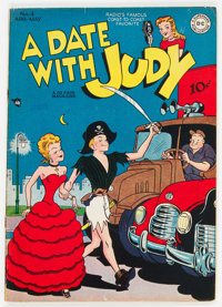 A Date With Judy #4 (DC, 1948) Condition: FN-