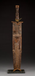 Pre-Columbian:Ceramics, A Congolese Sword and Sheath...