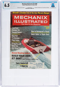 Neil Armstrong: Mechanix Illustrated Dated March, 1969, Sent to Armstrong's Texas Home Addre