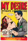Golden Age (1938-1955):Romance, My Desire #3 (Fox Features Syndicate, 1950) Condition: VG/FN....