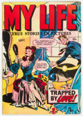Golden Age (1938-1955):Romance, My Life #4 (Fox Features Syndicate, 1948) Condition: VG+....