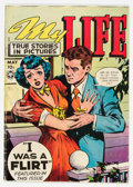 Golden Age (1938-1955):Romance, My Life #8 (Fox Features Syndicate, 1949) Condition: VG....