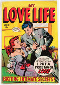 Golden Age (1938-1955):Romance, My Love Life #6 (Fox Features Syndicate, 1949) Condition: VG/FN....