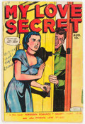 Golden Age (1938-1955):Romance, My Love Secret #25 (Fox Features Syndicate, 1949) Condition:GD/VG....