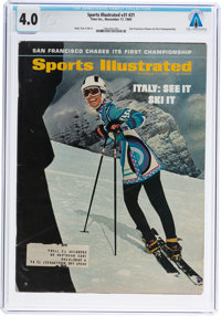 Neil Armstrong: Sports Illustrated Magazine Dated November, 1969 Sent to Armstrong's Texas H