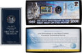 Explorers:Space Exploration, Apollo 11 40th Anniversary: Franklin Mint Presentations (Two) Originally from Buzz Aldrin's Personal Collection. ... (Total: 2 Items)