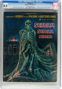 Scream #1 (Skywald, 1973) CGC VF 8.0 Cream to off-white pages