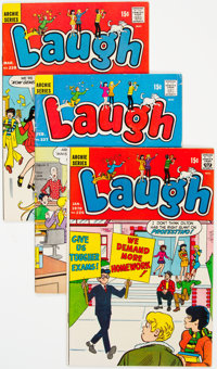Laugh Comics Group of 61 (Archie, 1970-89) Condition: Average VG/FN.... (Total: 61 Comic Books)