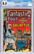 Silver Age (1956-1969):Superhero, Fantastic Four #48 (Marvel, 1966) CGC VF 8.0 Off-white to white pages....