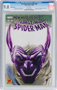 The Amazing Spider-Man #568 Negative Edition (Marvel, 2008) CGC NM/MT 9.8 White pages