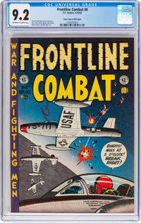 Frontline Combat #8 Mile High Pedigree (EC, 1952) CGC NM- 9.2 Off-white to white pages
