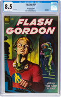 Golden Age (1938-1955):Science Fiction, Four Color #424 Flash Gordon - Mile High Pedigree (Dell, 1952) CGC VF+ 8.5 White pages....