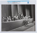 Explorers:Space Exploration, Soviet Union 1970 Visit: COSPAR XIII Conference Photo of Neil Armstrong Giving a Speech Directly From The Armstrong Family Col...