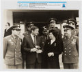 Explorers:Space Exploration, Soviet Union 1970 Visit: COSPAR XIII Conference Photo of Neil Armstrong With Cosmonauts Georgy Beregovoy, Valentina Tereshkova...