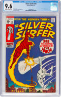 Bronze Age (1970-1979):Superhero, The Silver Surfer #15 (Marvel, 1970) CGC NM+ 9.6 Off-white to whitepages....