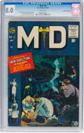 Golden Age (1938-1955):Miscellaneous, M.D. #2 Gaines File pedigree 11/12 (EC, 1955) CGC VF 8.0 White pages....